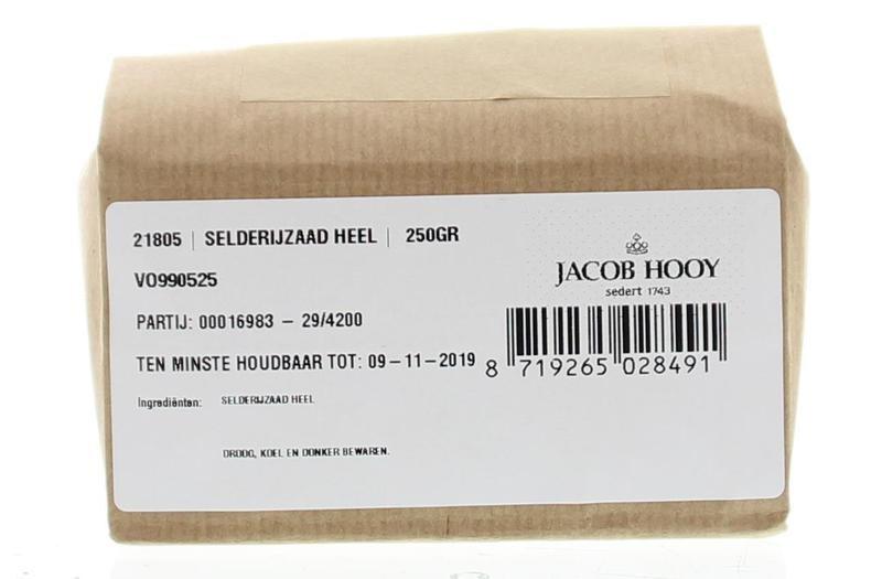 Jacob Hooy Jacob Hooy Selderij zaad (250 gram)