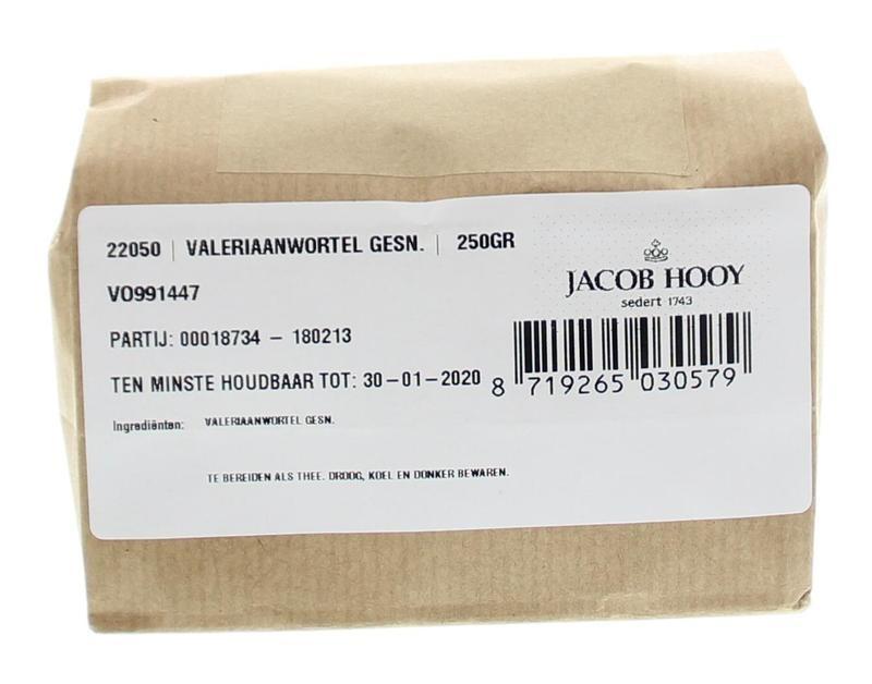 Jacob Hooy Jacob Hooy Valeriaanwortel gesneden (250 gram)
