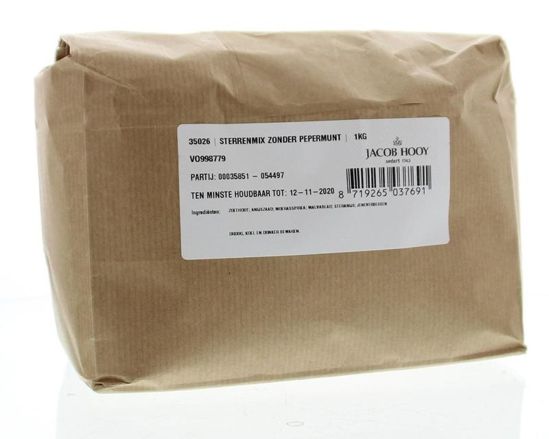 Jacob Hooy Jacob Hooy Sterrenmix zonder pepermunt (1 kilogram)