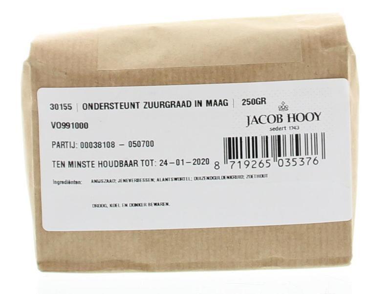 Jacob Hooy Jacob Hooy Ondersteunt zuurgraad maag (250 gram)