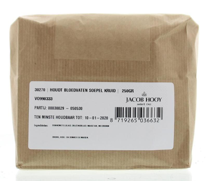 Jacob Hooy Jacob Hooy Houd bloedvaten soepel kruiden (250 gram)