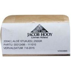 Jacob Hooy Aloe stukjes (250 gram)