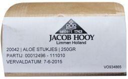 Jacob Hooy Jacob Hooy Aloe stukjes (250 gram)