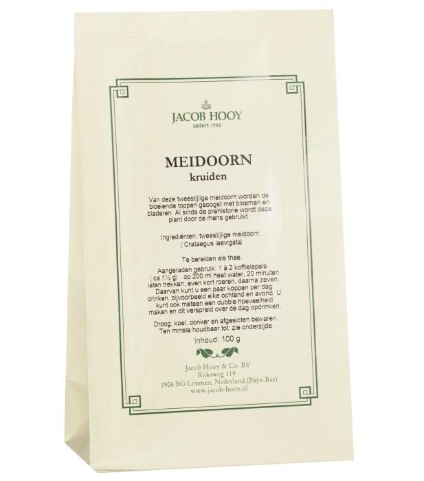 Jacob Hooy Jacob Hooy Meidoornkruiden (geel zakje) (100 gram)