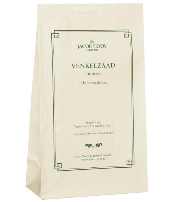 Jacob Hooy Jacob Hooy Venkelzaad (geel zakje) (50 gram)