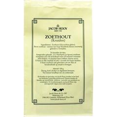 Jacob Hooy Zoethout gesneden geschild (geel zakje) (150 gram)