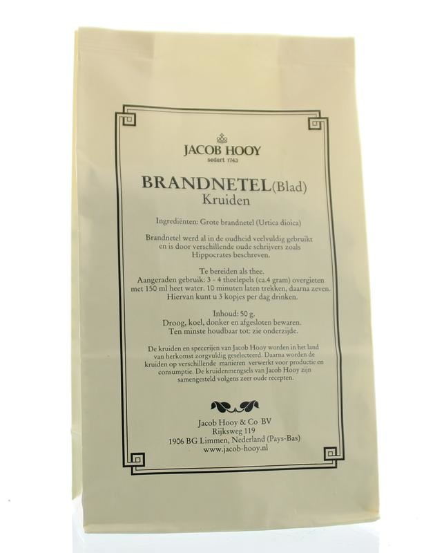 Jacob Hooy Jacob Hooy Brandnetelblad (geel zakje) (50 gram)