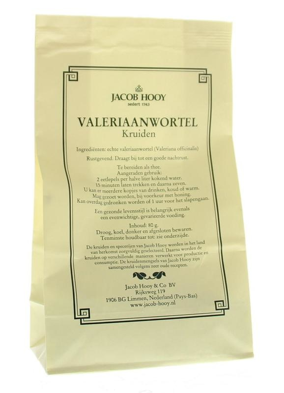 Jacob Hooy Jacob Hooy Valeriaanwortel (geel zakje) (80 gram)