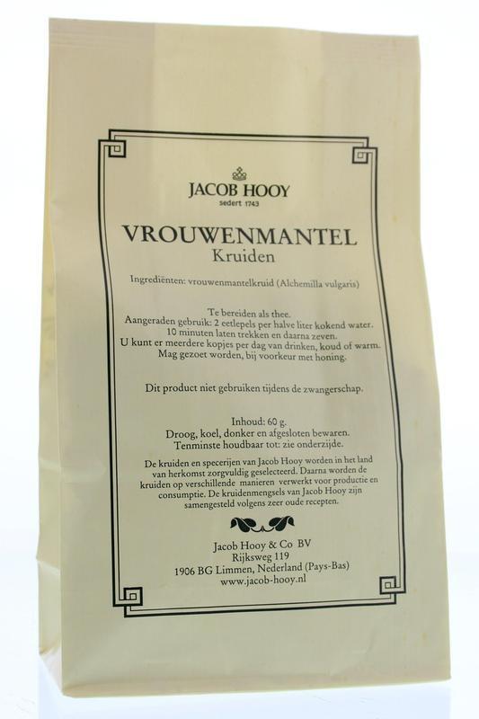 Jacob Hooy Jacob Hooy Vrouwenmantel (geel zakje) (60 gram)