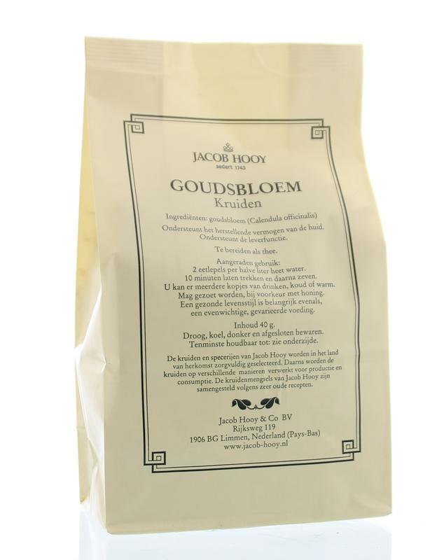Jacob Hooy Jacob Hooy Goudsbloem (geel zakje) (40 gram)