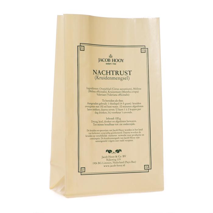 Jacob Hooy Jacob Hooy Nachtrustkruiden (geel zakje) (100 gram)