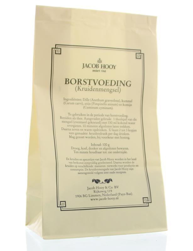 Jacob Hooy Jacob Hooy Borstvoedingskruiden (geel zakje) (100 gram)