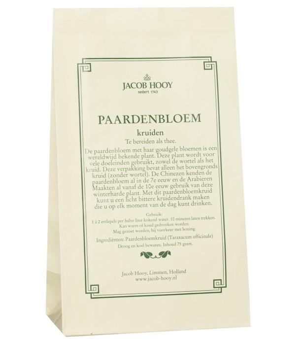 Jacob Hooy Jacob Hooy Paardebloemkruid (geel zakje) (75 gram)