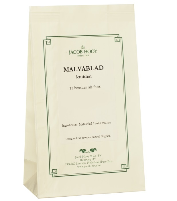 Jacob Hooy Jacob Hooy Malvablad / Kaasjeskruid (geel zakje) (60 gram)