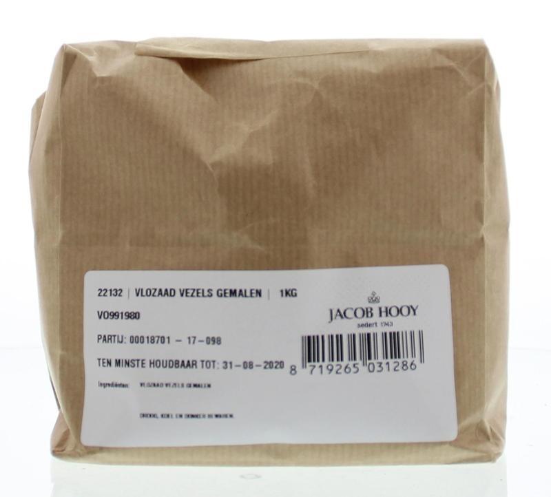 Jacob Hooy Jacob Hooy Vlozaad vezels gemalen (1 kilogram)
