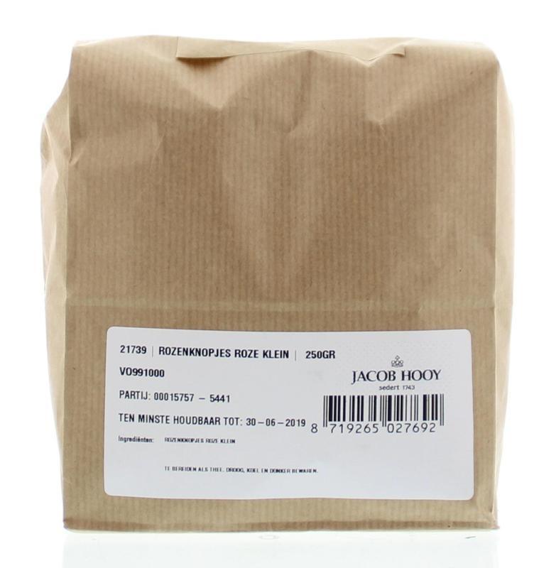 Jacob Hooy Jacob Hooy Rozenknopjes roze klein (250 gram)