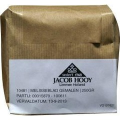 Jacob Hooy Melisseblad gemalen (250 gram)