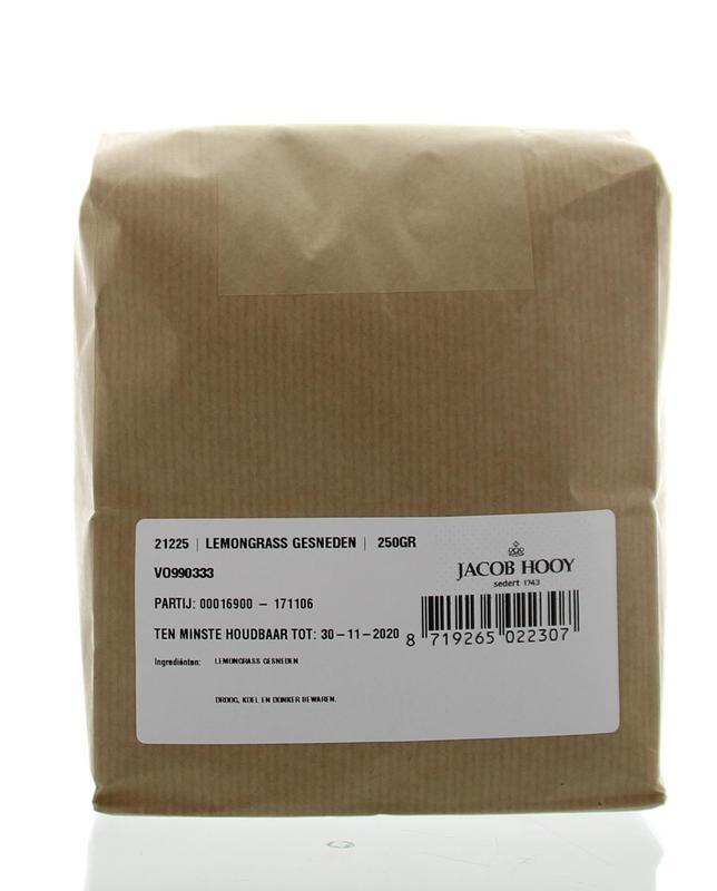 Jacob Hooy Jacob Hooy Lemongrass gesneden (250 gram)