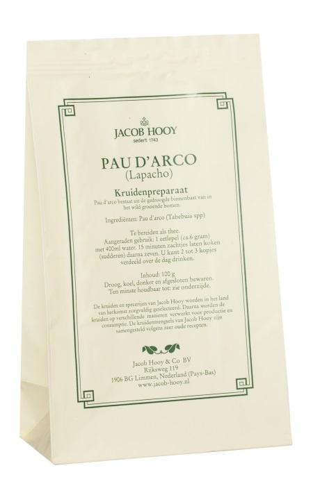 Jacob Hooy Jacob Hooy Pau d' Arco (geel zakje) (100 gram)