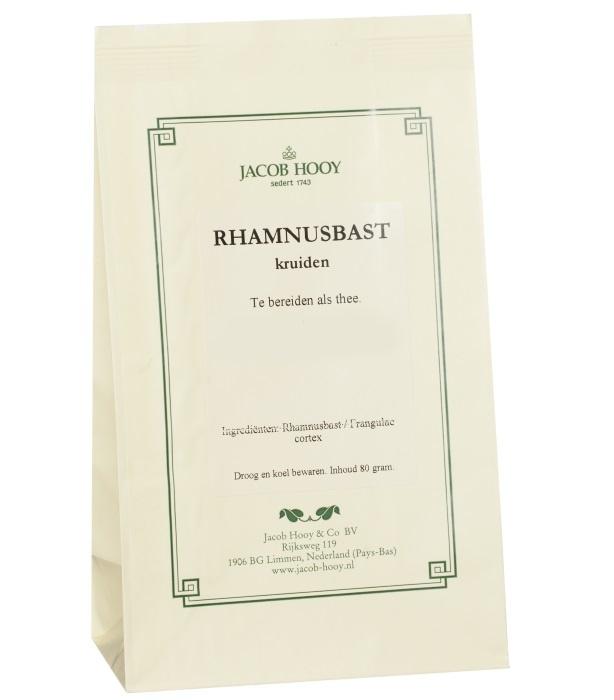 Jacob Hooy Jacob Hooy Rhamnubast gesneden (geel zakje) (80 gram)