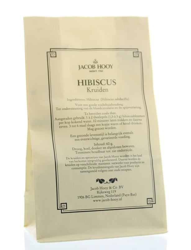 Jacob Hooy Jacob Hooy Hibiscus (geel zakje) (60 gram)