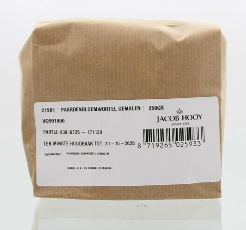 Jacob Hooy Jacob Hooy Paardebloemwortel gemalen (250 gram)