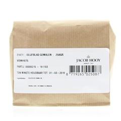 Jacob Hooy Olijfblad gemalen (250 gram)