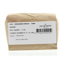 Jacob Hooy Ashwagandawortel gemalen (250 gram)