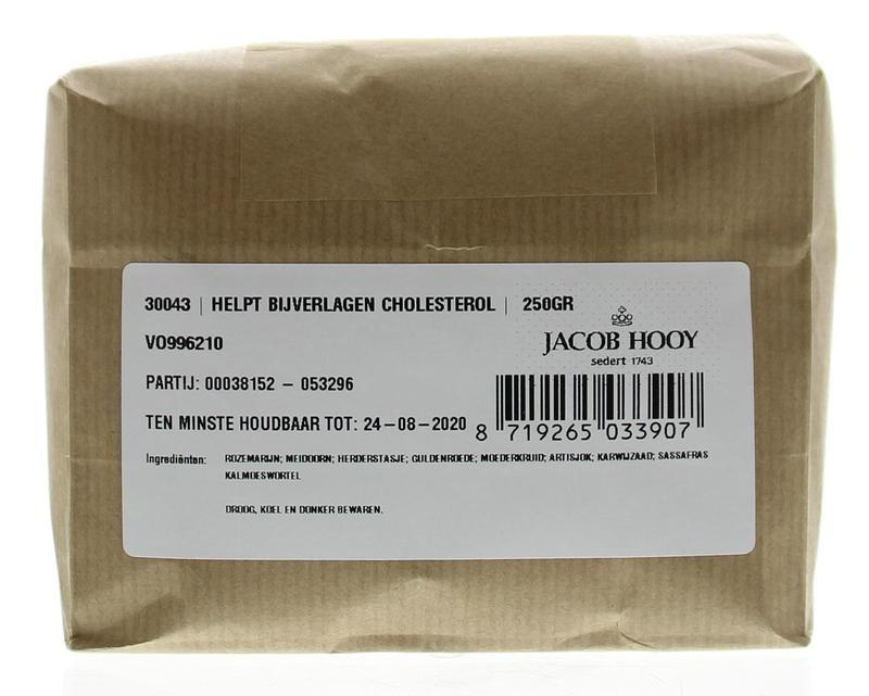 Jacob Hooy Jacob Hooy Helpt bij verlaging cholesterol (250 gram)