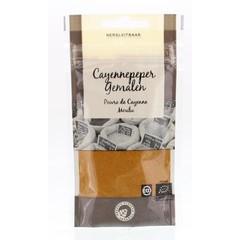 Org Flavour Comp Cayennepeper gemalen bio (25 gram)