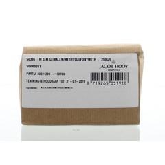 Jacob Hooy MSM gemalen methylsulfonylmethaan (250 gram)