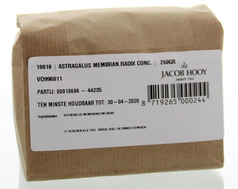 Jacob Hooy Jacob Hooy Astragalus radix gesneden (250 gram)