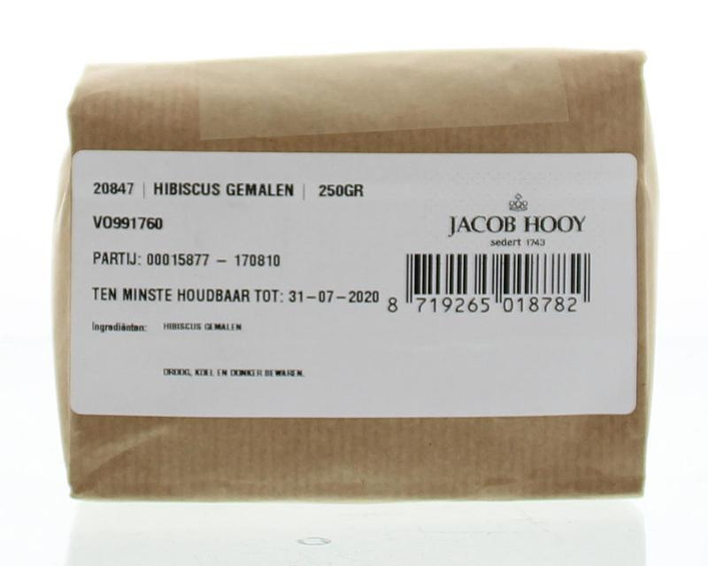 Jacob Hooy Jacob Hooy Hibiscus gemalen (250 gram)