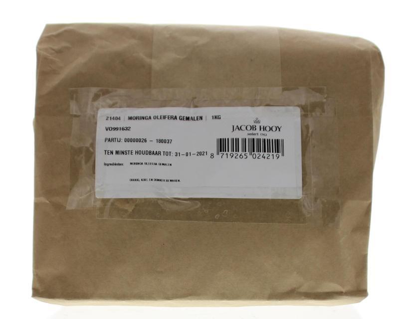 Jacob Hooy Jacob Hooy Moringa oleifera gemalen (1 kilogram)