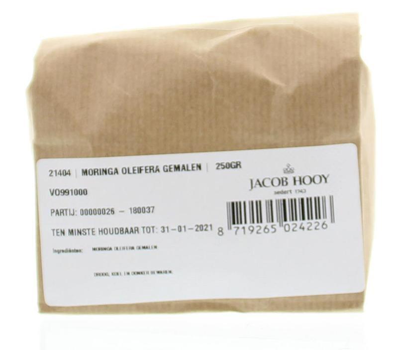 Jacob Hooy Jacob Hooy Moringa oleifera gemalen (250 gram)