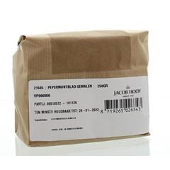 Jacob Hooy Pepermuntblad gemalen (250 gram)