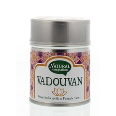 Nat Temptation Vadouvan blikje natural spices (50 gram)