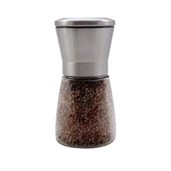Hanoju Pepermolen RVS met zwarte peper (1 stuks)