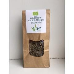 Vitiv Salieblad gesneden (25 gram)