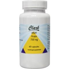 Clark MSM 750 mg (60 vcaps)