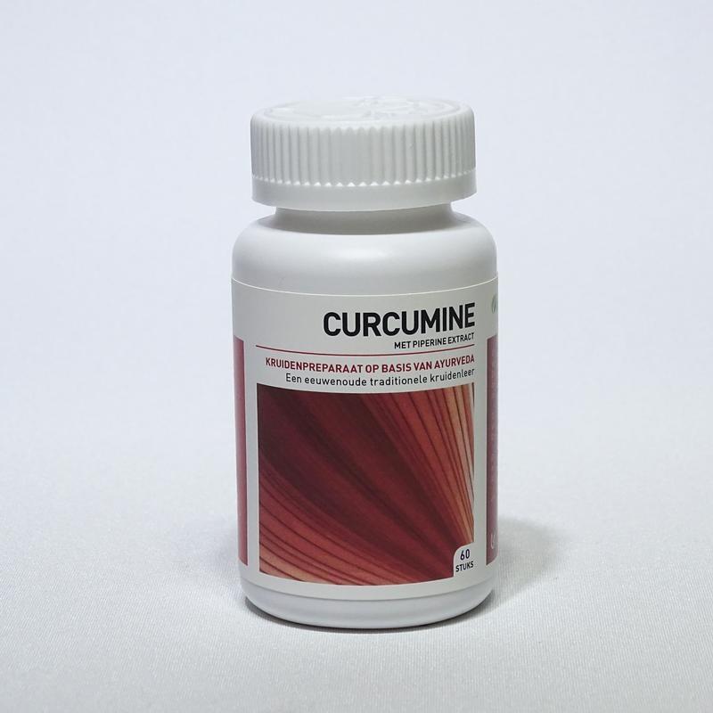 Ayurveda Health Ayurveda Health Curcumine piperine extract (60 tabletten)