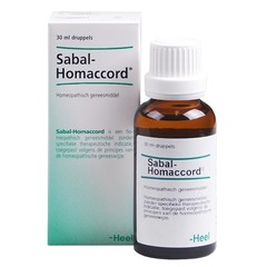Heel Sabal-Homaccord (30 ml)