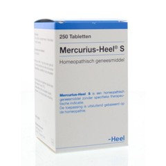 Mercurius-heel S (250 tabletten)