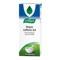 A Vogel Hepar sulfuris D4 (200 tabletten)