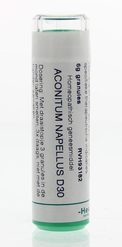 Homeoden Heel Homeoden Heel Aconitum napellus D30 (6 gram)