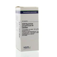 VSM Magnesium phosphoricum D3 (200 tabletten)
