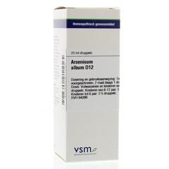 VSM Arsenicum album D12 (20 ml)