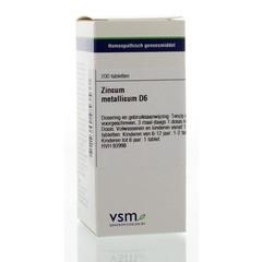 VSM Zincum metallicum D6 (200 tabletten)