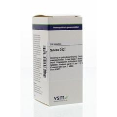 VSM Silicea D12 (200 tabletten)