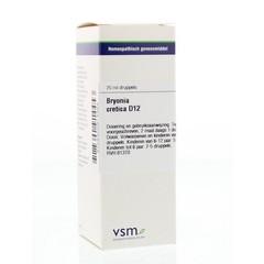 VSM Bryonia cretica (alba) D12 (20 ml)